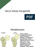 Varus Koksa Kongenital.pptx