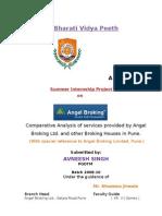 Summer Intership Report on Angel Broking Ltd PUNE