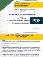 Calor y Mecanismos de Transferencia