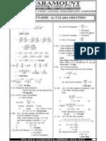Ssc Mains (Maths) Mock Test-12 (Solution)