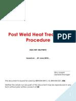 PWHT Procedure