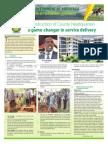 One Year Later Key Development Achievements