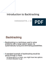 Introduction to Backtracking