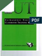 PTP Ultrasonic Testing Level 1