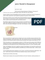 Gene Study May Improve Thyroid Ca Management