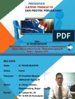 Penjelasan Proyek Perubahan Diklatpim III 2014