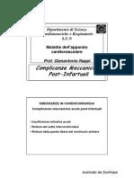 Complicanze Meccaniche Post-IMA