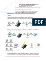 Automatic Meter Reading via Cellular Networks