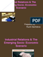 Ir & Emerging Socio Economic Scenario...