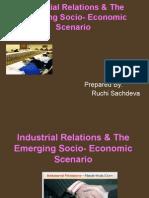 Ir & Emerging Socio Economic Scenario...