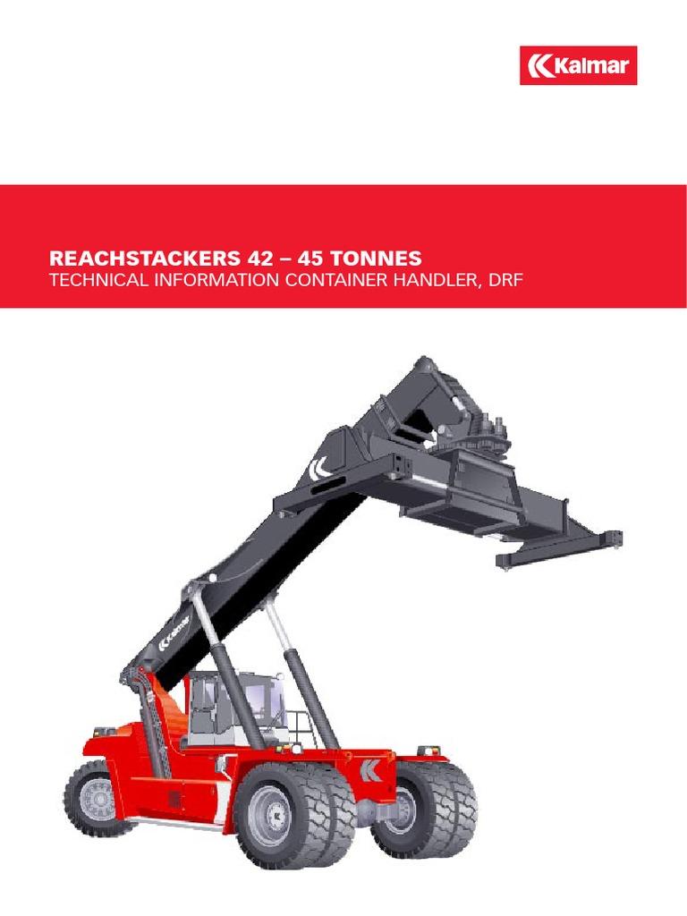 ReachStackers 42-45 t Kalmar | Transmission (Mechanics) | Automatic  Transmission