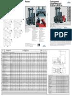 Forklift Linde 18 52t Capacity