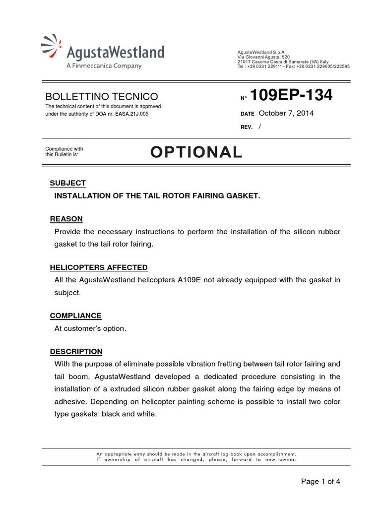 BT109EP134E | Helicopter | Rotorcraft
