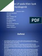 Askep Dan LP Pada Klien Syok Kardiogenik