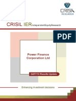CRISIL - Power Finance Corporation Ltd. (PFC) - Results in Line; No Incremental NPAs (3QFY13 RU)