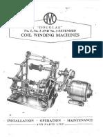 Avo Douglas Nº1-3 & 3 Extended - Coil Winding Machines Sm