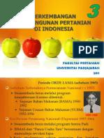 Kuliah 3 Pembangunan Pertanian 23 Sept 2011