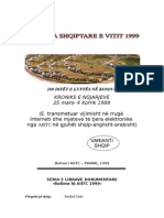 Golgota Shqiptare e Vitit 1999