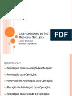 Licenciamento de Instalações de Medicina Nuclear (1)