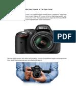 Nikon Dslr d5200