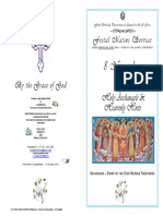 2014 - 8 Nov -Archangels & Heavenly Hosts - Matins - Weekday
