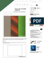Cómo Crear El Modelo Inconsútil Diagonal en Adobe Illustrator - Illustrator Tips - Vectorboom