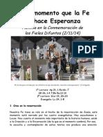 FiDif-En el momento que la Fe se hace Esperanza