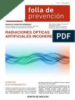 Radiaciones Ópticas Incoherentes