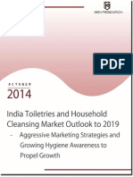 India Toiletries and Household Cleansing Market Outlook to 2019