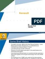 Renault Startegy Through changing Times