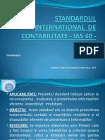 Prezentare IAS 40
