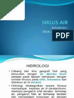 1. Siklus Air Agt