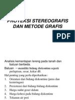13 Proyeksi Stereografis Dan Metode Grafis