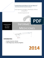 informe Laboratorio 1 - Mediciones