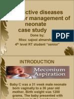 Restrictive Diseases Ventilator Management of Neonate