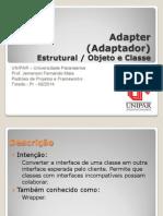 Padrões de Projetos - Adapter