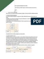 Tipos de Bases de Datos Según La Organización Lógica de Los Datos