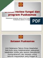 1 Analisis Fungsi Dan Program Puskesmas