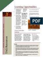 October 2014 TAG Newsletter