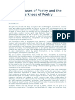 """Dr. Luan Topciu """"Dark Muses of Poetry and the Darkness of Poetry"""""""