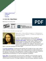 A Arte Dos Algoritmos _ Teoria Da Conspiração