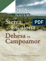 Historia Natural Sierra Escalona 2014