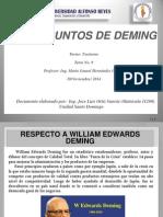 Los 14 Principios de Deming