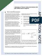 Fluorescence Detection of Amino Acids