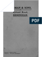 Burman Instructions and Specifications