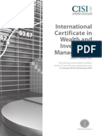 International Certificate in Wealth and Investment Management Ed1