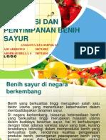 Benih Sayur Di Negara Berkembang
