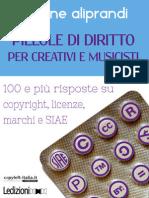 Pillole di diritto per creativi e musicisti - Aliprandi (2014)