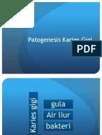 Patogenesis Karies