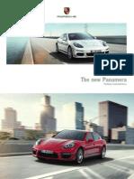 Porsche US Panamera 2014